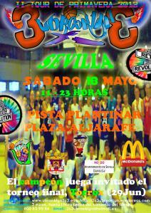 II TOUR UBROOKLYN 3x3 - SPRING 2013, Sevilla 18 Mayo, mail