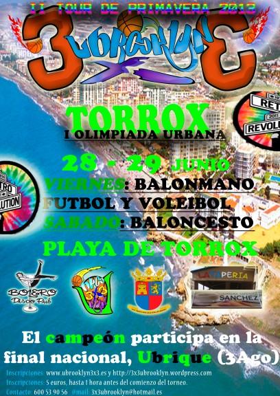 II TOUR UBROOKLYN 3x3 - SPRING 2013, Torrox 29 Junio