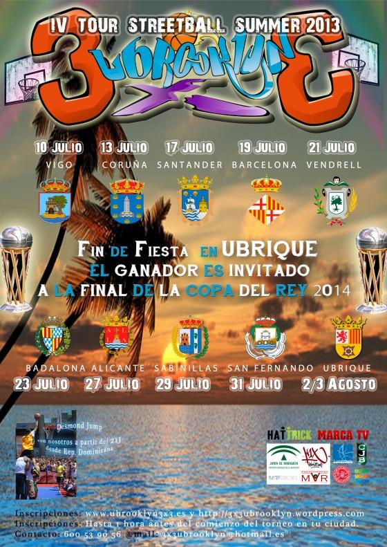 IV TOUR UBROOKLYN 3x3 - SUMMER 2013
