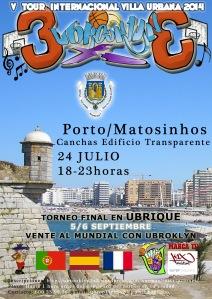 V Tour Internacional Ubrooklyn 3x3 - Villa Urbana 2014, 01Oporto