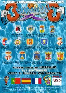 V Tour Internacional Ubrooklyn 3x3 - Villa Urbana 2014 Versión verano