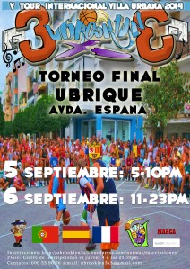 V Tour Internacional Ubrooklyn 3x3 - Torneo Final Ubrique 2014
